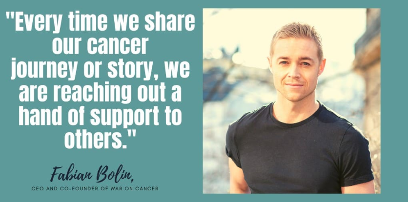 Interview with War On Cancer co-founder, Fabian