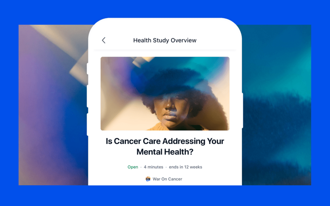 The Impact of Participating in our Health Study on Mental Health and Cancer Care